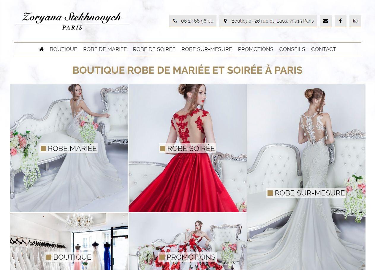 Boutique De Robe De Mariee A Paris Entreprise Webfrance