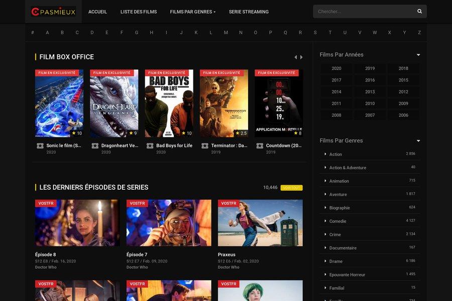 Cpasmieux.co, film streaming vf et série streaming vf - Cinéma - WebFrance